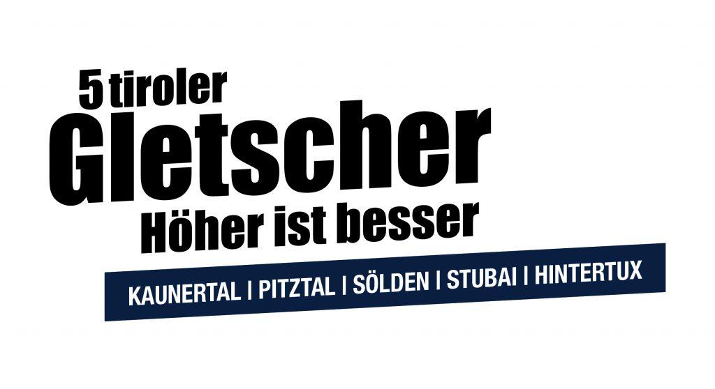 Logo 5 Tiroler Gletscher