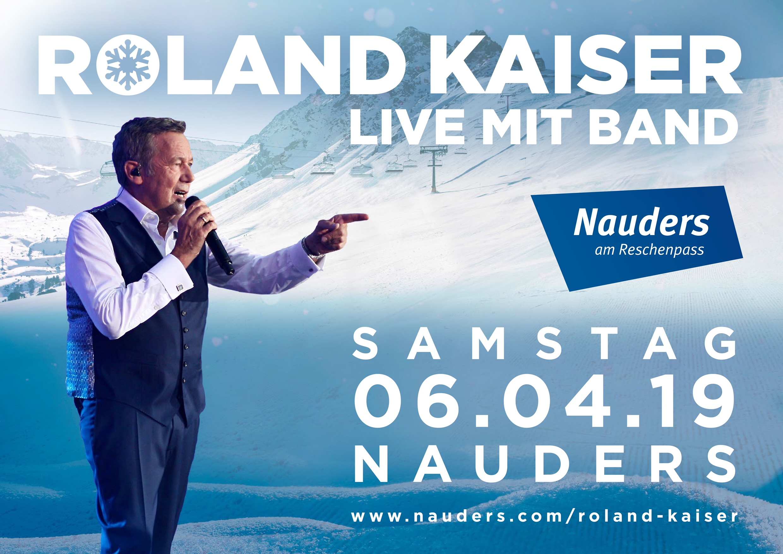 Roland Kaiser Gibt Sein Erstes Live Konzert Im Schnee Am 6 April