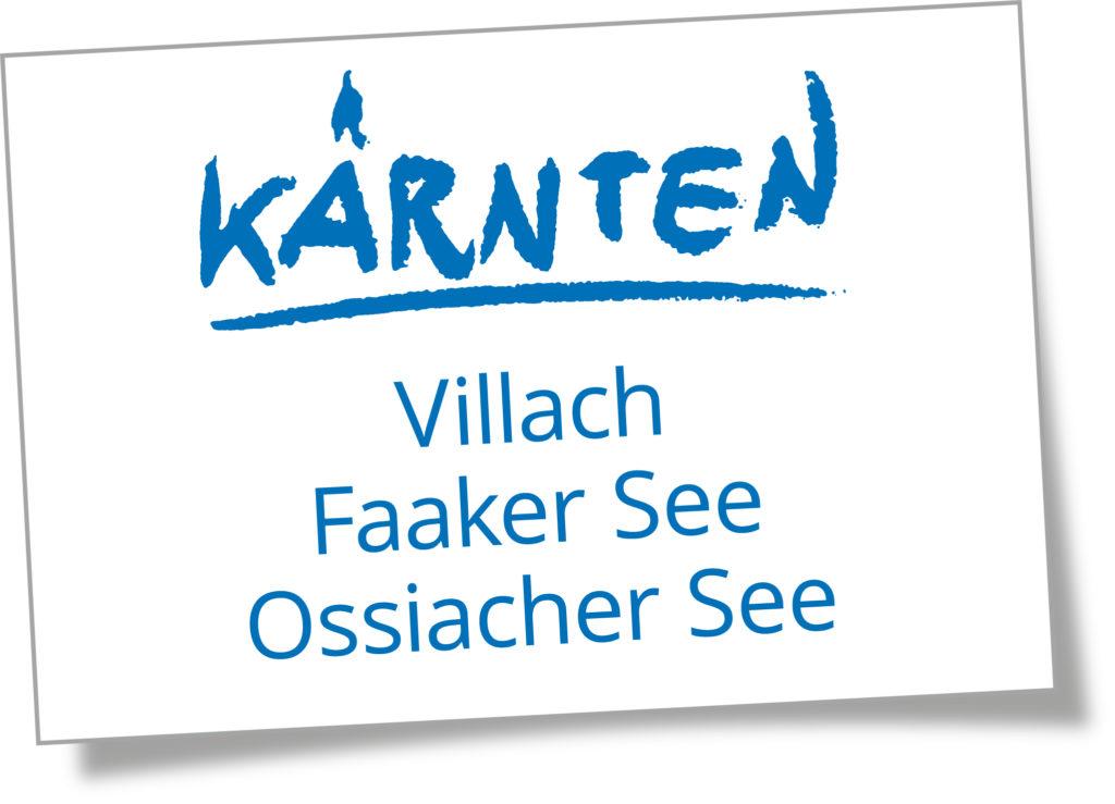Logo Region Villach – Faaker See – Ossiacher See